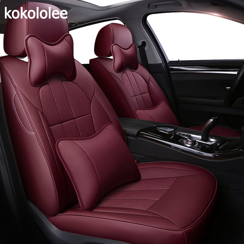 Kokololee de real cubierta de asiento de cuero de coche para buick Regal Avenir Excelle PARK AVENUE lacross GL6 GL8 imaginar estilo