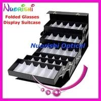 a048 folding glasses suitcase eyeglass suitcase eyewear suitcase