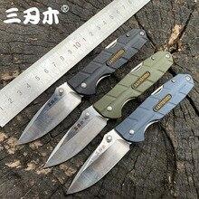 Sanrenmu 7092 Folding Multi Funktion Folding Messer 12C27 Klinge PA66 + GF Griff Outdoor Camping Jagd Schneiden EDC Tasche Werkzeuge