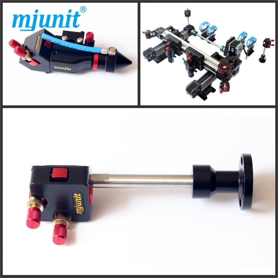 Co2 piezas de la máquina láser incluyendo cabeza láser espejo soportes soporte de tubo cinturón fixutre reductor de velocidad de engranajes