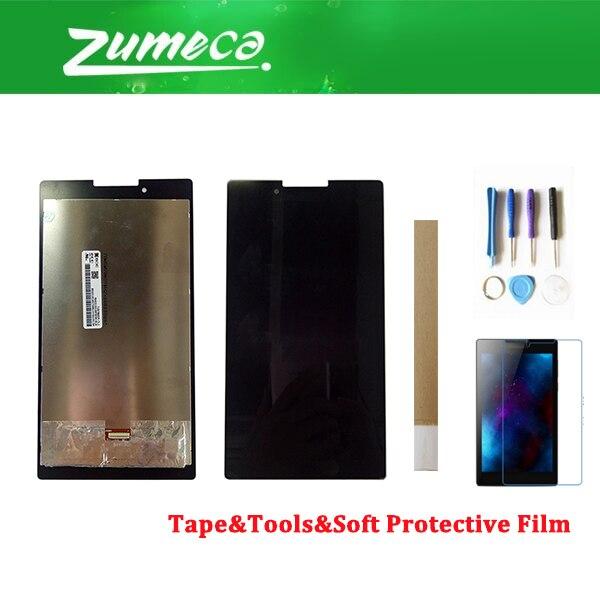 7,0 pulgadas para Lenovo Tab 2 A7-30 A7-30D A7-30H A7-30DC A7-30HC pantalla LCD + MONTAJE DE digitalizador de pantalla táctil negro con Bluetooth