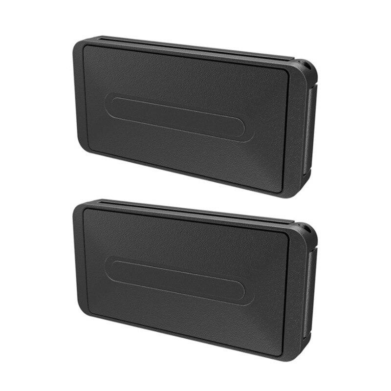 2 Pcs Universal Car Safety Belt Clip Holder Auto Accessories for Honda CRV Accord HR-V Vezel Fit City Civic Crider Odeysey