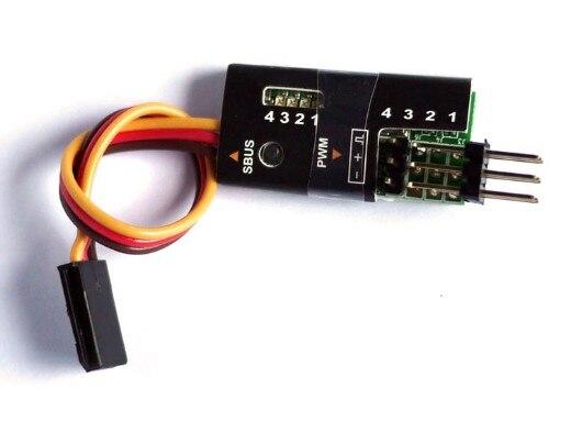 FrSky 4-Canal S. BUS para Decodificador PWM