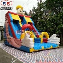 Hot Sale Inflatable Clown Theme Slide Commercial Inflatable Bouncy Castle Slide