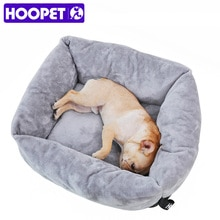 HOOPET, sofá para mascotas, camas para perros, sueño reparador de lana con cojín para cachorros, cama cálida para gatos, para perros grandes, casa para gatos