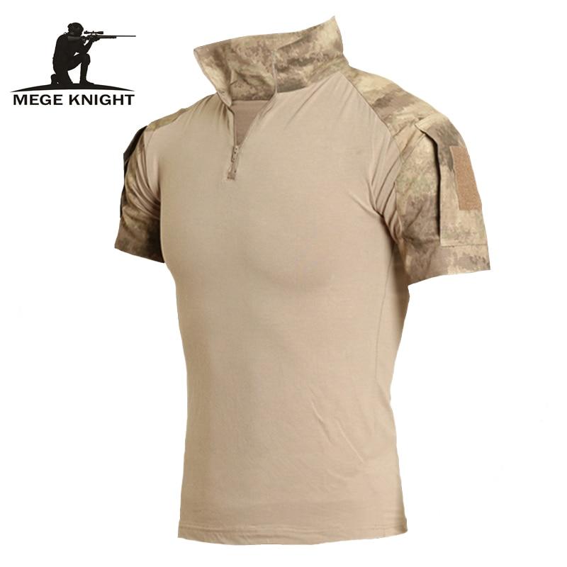Roupas militares camuflagem de combate curto camisa camuflagem digital acu AT-FG multicamo camisa superior roupas