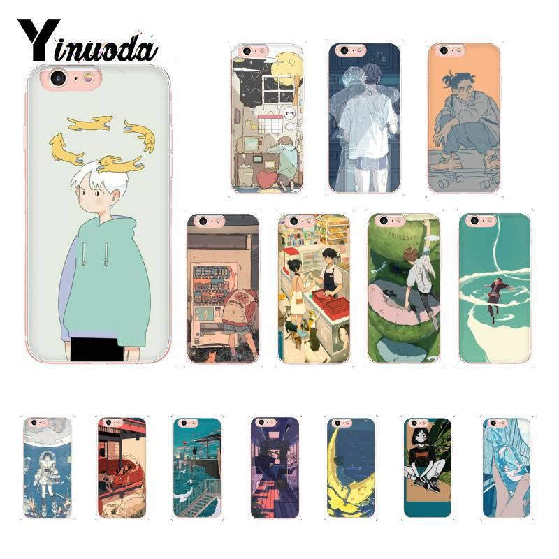 Yinuoda милый корейский стиль шрифт на заказ фото мягкий чехол для телефона iPhone 8 7 6 6S Plus X XS MAX 5 5S SE XR 10 11 11pro 11promax