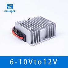Waterproof DC 6V To 12V Converter 6V-10V to 12V 5A8A10A Regulator Voltage Power DC to DC Converter Step Up Voltage for Motor LED