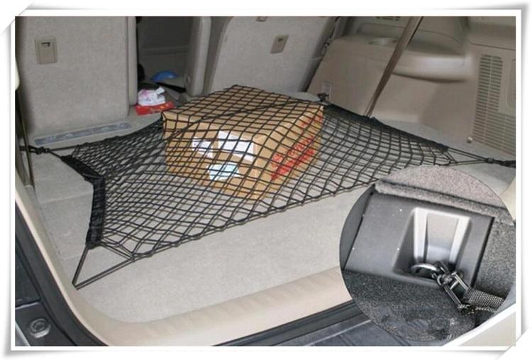 2018 HOT Car Trunk Nylon Stretch Luggage Net for Mini Cooper Kia Ceed Subaru Volvo Seat Leon Honda Civic Hyundai creta Solaris