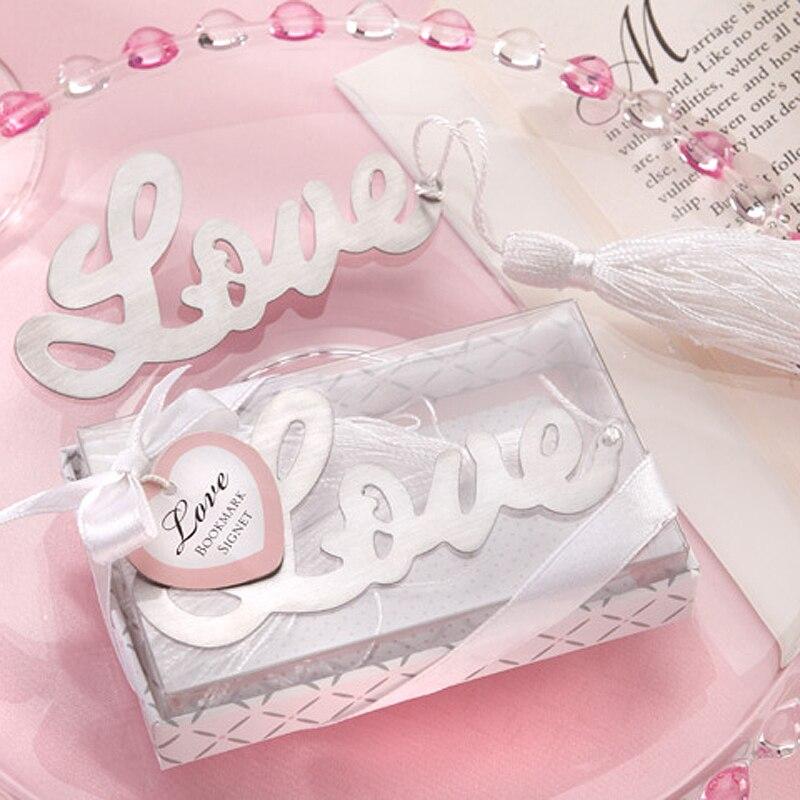 80 Uds amor marcador Recuerdos Para Bautizo regalos de boda para los...