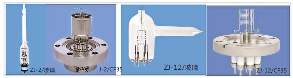ZJ-12  zj2 vacuum gauge Thermo cathode ionization resistance measuring instrument ZJ-2 ZJ-2/CF35 ZJ-2/KF40 ZJ-12/CF35