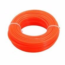 1 bobine 15m x 2.4mm herbe coupe ligne de coupe Nylon cordon fil chaîne pour coupe gazon vente chaude tondeuse lignes