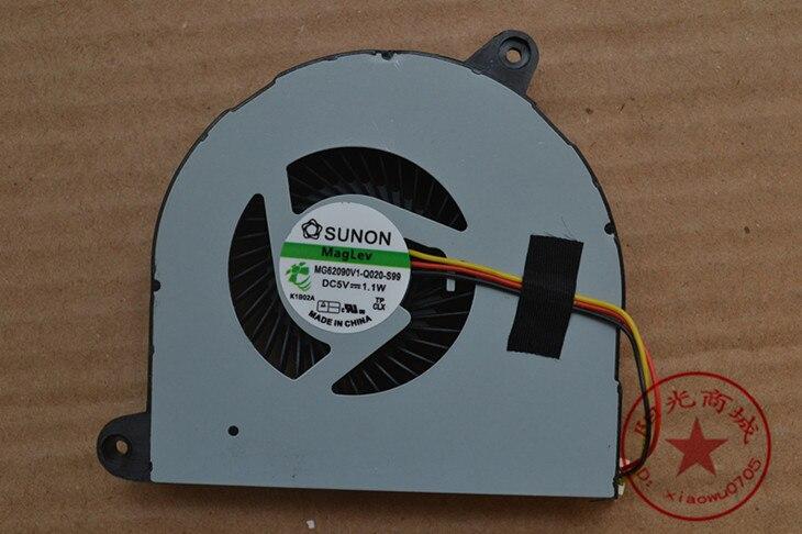 Ventilador de Refrigeração Fan para Dell Ssea Novidades Laptop 5720 7720 3760 p – n Mf75120v1-c100-g99 0d0d6c ou Dfs601305fq0t Cpu 17r