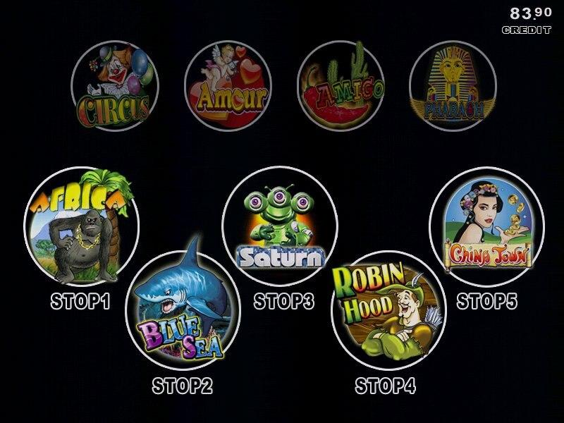 XXL 9 em 1 40-96% tabuleiro multijogos para máquina de casino