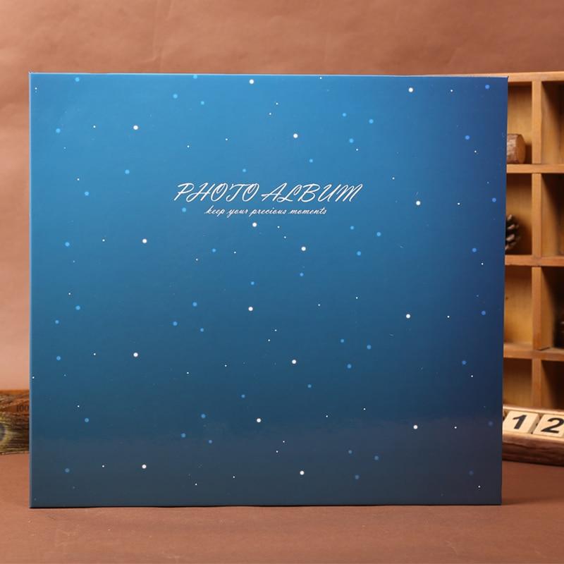 Large Size 5 6 inch Photo Album Baby Family Scrapbook Albums Beautiful Arts High Quality Handmade DIY Birthday Gift 33
