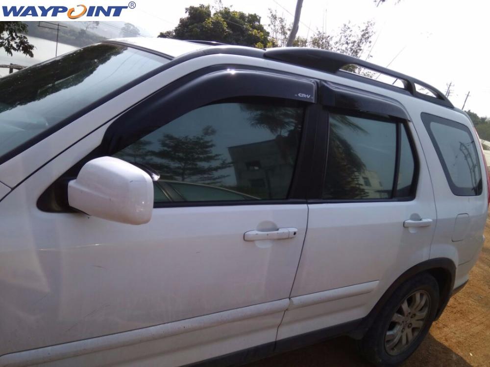 Ventilação da viseira da janela para honda crv 2002 2003 2004 2005 2006