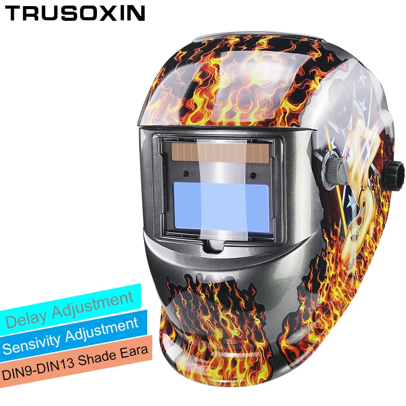 Solar Li Auto Darkening TIG MIG MMA Welding Helmets/Welder Goggles/Mask Eyes Glasses/Goggles for Welding Machine/Accessories