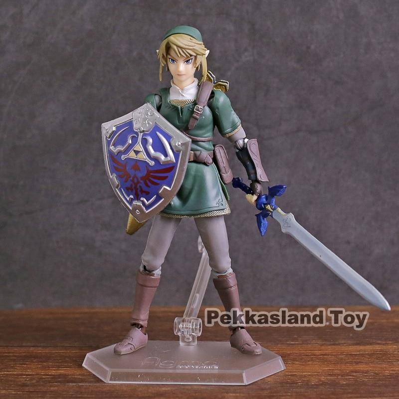 Figma 320 enlace Twilight Princess Ver DX edición PVC figura de acción de juguete de modelos coleccionables
