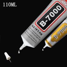 B7000 110ml adhésif polyvalent bijoux strass artisanat bricolage téléphone écran verre résine époxy Super liquide colle B-7000 Gel pour ongles