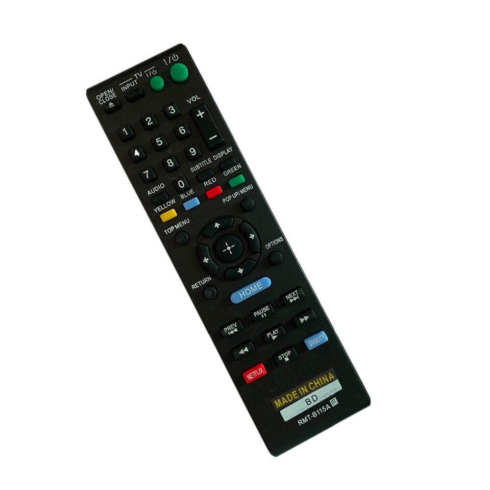 Nuevo control remoto RMT-B115A para Sony Blu-ray DVD reproductor de disco BDP-S580...