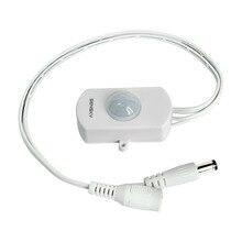 Sensky Dc 12V 24V 5A Pir Sensor Schakelaar Mini Pir Infrarood Motion Sensor Detector Switch Module Voor Led strip Licht