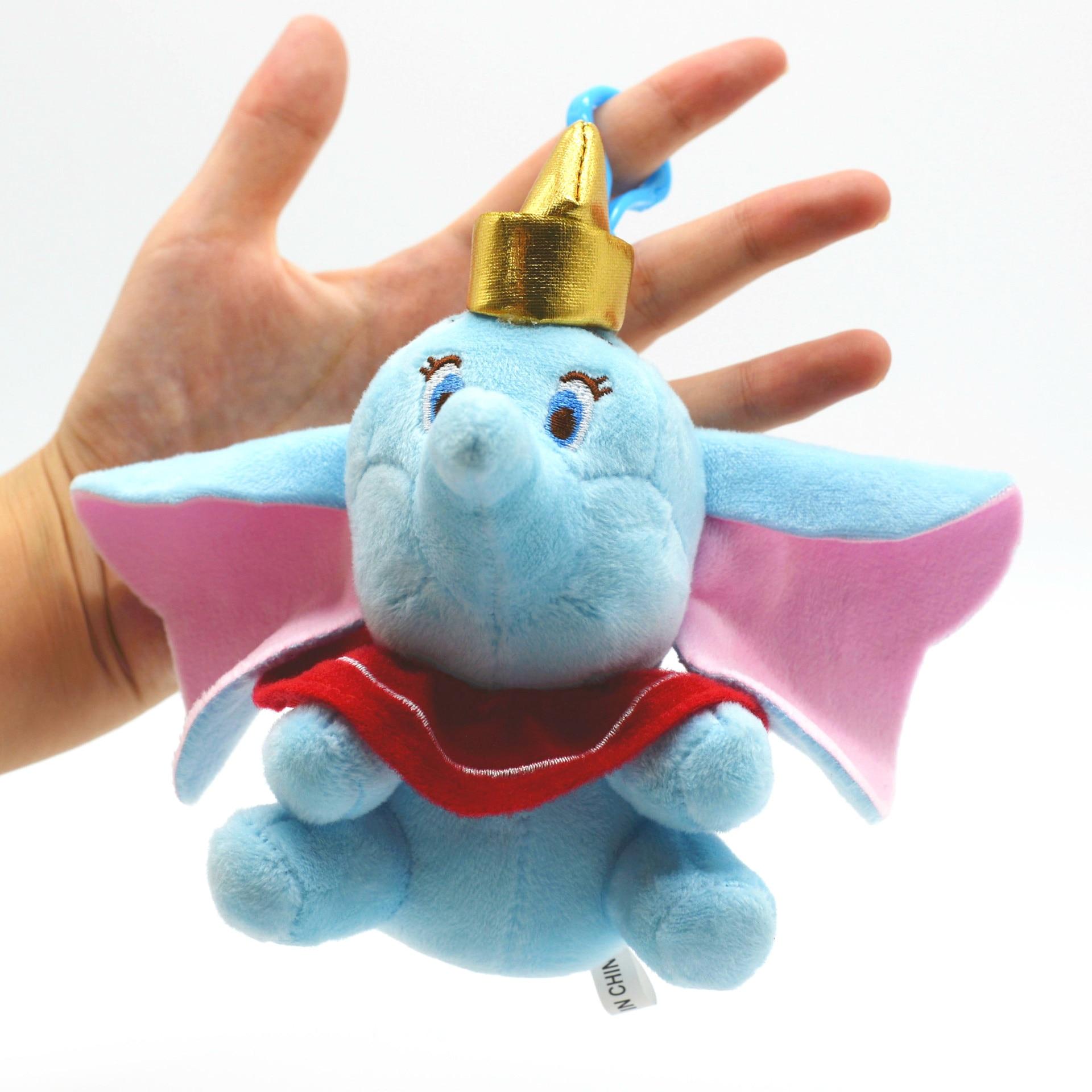 10cm peluche Dumbo charms dibujos animados muñecas de peluche regalo