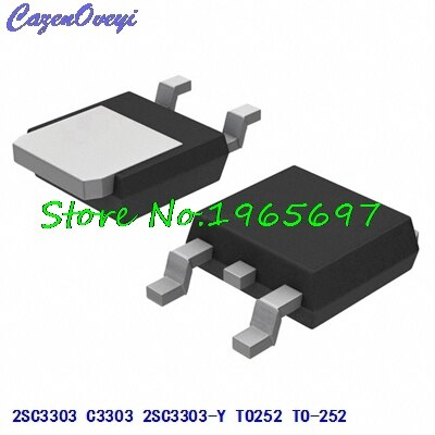 10 unids/lote 2SC3303 C3303 2SC3303-Y TO252 a-252 en Stock
