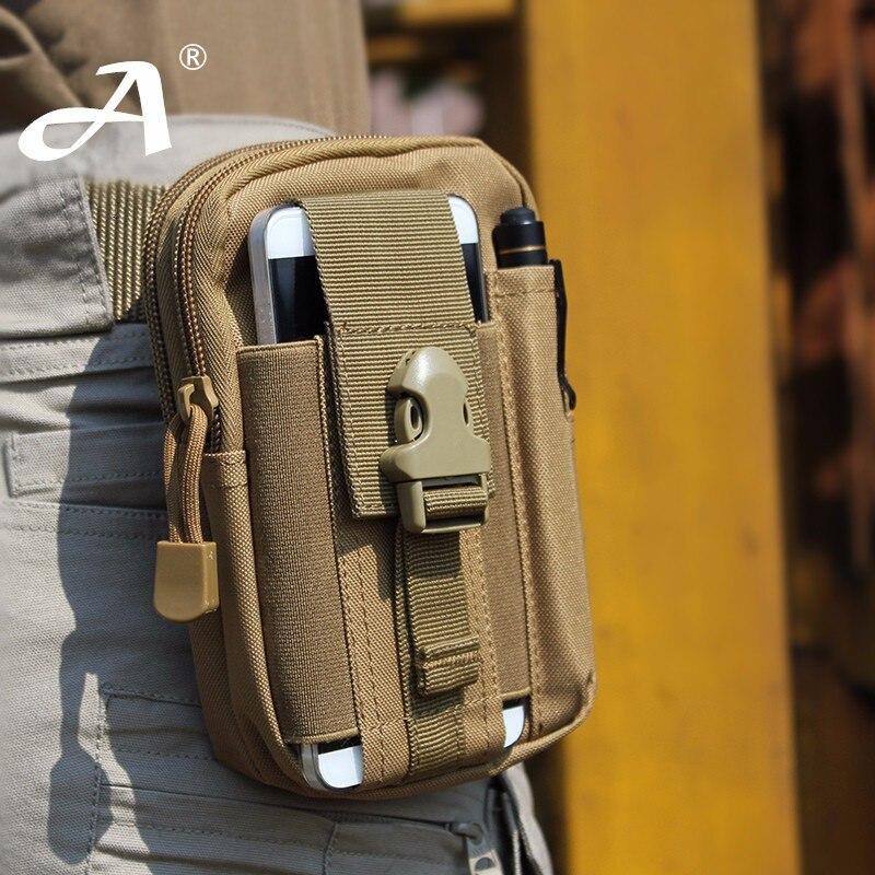 Alta calidad para Doogee Homtom HT7 pro funda al aire libre táctica Holster militar cadera cintura cinturón bolsas teléfono CaseFor Doogee Homtom HT5