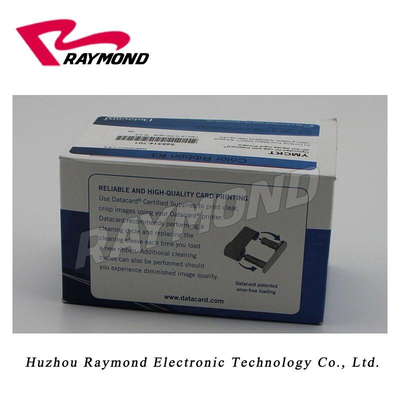 Datacard 546314-701 YMCKT color ribbon for SP30plus card printer
