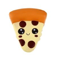 Jumbo милый пицца мягкий медленно поднимающийся моделирование мягкая игрушка ПУ хлеб торт Ароматические анти для веселья, против стресса для ...