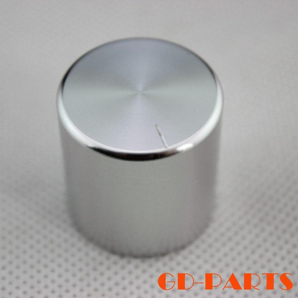 Ручка с алюминиевым потенциометром для Hi-Fi, 30*25 мм, механический усилитель звука, радио колонка, ЦАП, поворотная запись, управление звуком CD