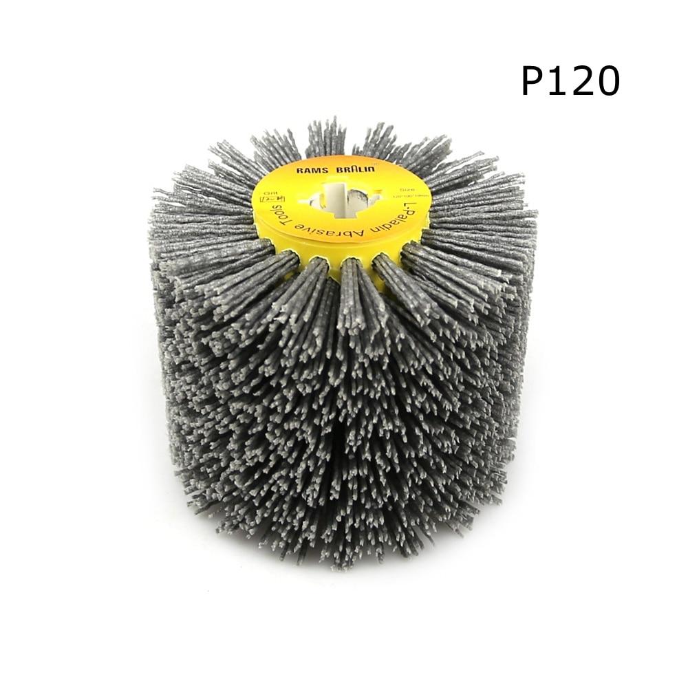 1 stks 120 * 100 * 19 mm nylon schurende draad drum polijstschijf - Schurende gereedschappen - Foto 3