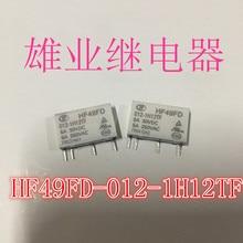 Реле HF HF49FD 012-1H12TF 12VDC 5A 4PIN