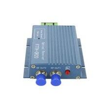 1Pcs Aluminium OR20 CATV Fiber Optical Receiver AGC Micro SC APC Duplex Fiber Optical Connector with 2 output port WDM