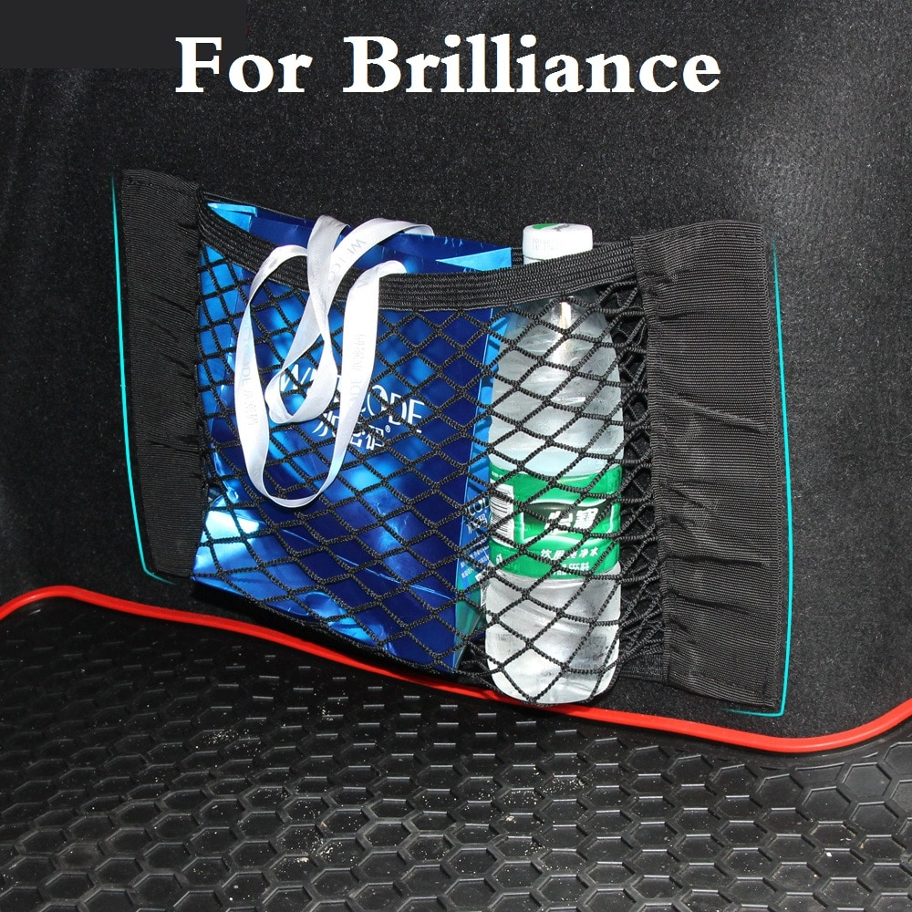 Bolsa de red de nailon para transporte de coches, bolsa de bolsillo para Brilliance FRV (BS2) H230 H530 M1 (BS6) M2 (BS4) M3 (BC3) V5