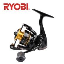 RYOBI ULTRA POWER 500/800/1000 spinning reel fishing 6 + 1BB Gear Ratio5.2: 1 metalen spool rvs lager zoutwatervissen
