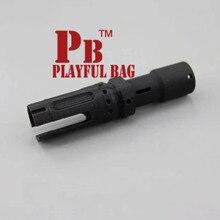 Kreatywny zabawny worek taktyczny STD PDW pistolet elektryczny na naboje wodne druk 3D górny spin outdoor CS zamknij akcesoria MA04