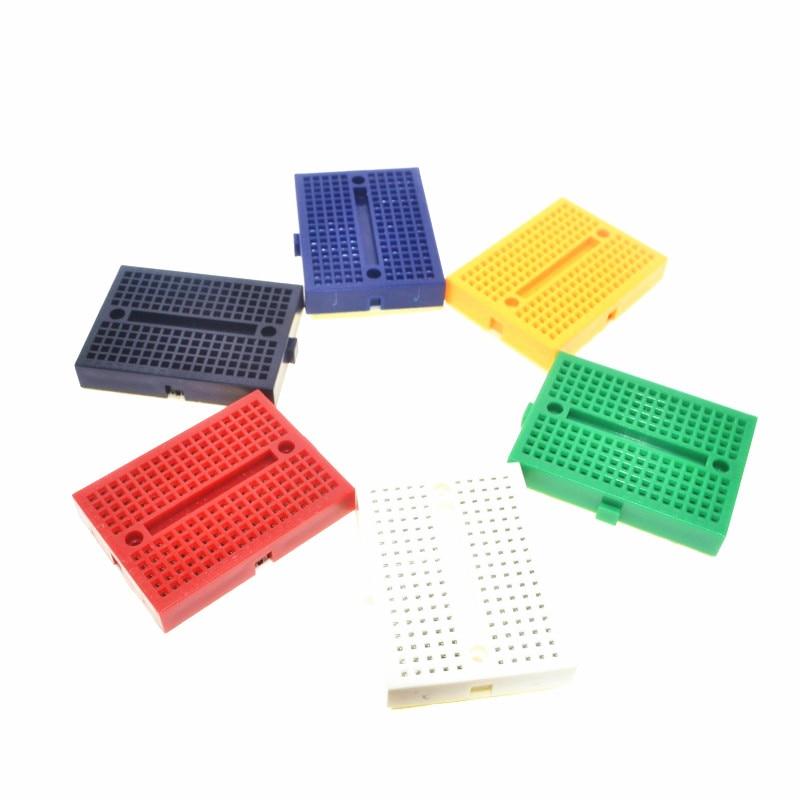 SYB 170 маленькая пряжка цвет Хлеб доска мини arduio панель|Клеммные колодки| |