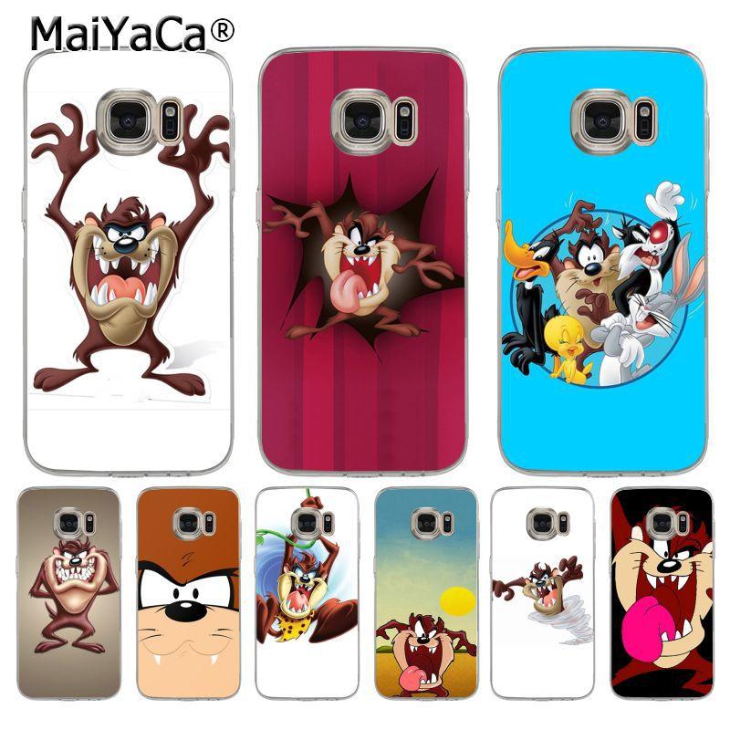 MaiYaCa sh3539 Looney Tunes Tasmanian Devil Taz  Cute Phone Accessories Case for samsung galaxy s7edge s6 edge plus s5 s8 s4case