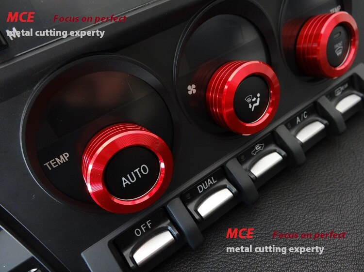 Embellecedor de cubierta de anillo de aire acondicionado MCE para TOYOTA FT86/ GT86/ SUBARU BRZ