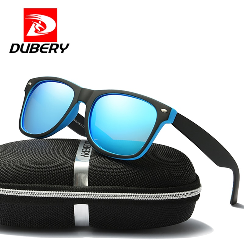 DUBERY 2019 Luxury Brand Polarized Sunglasses Men's Women Aviation Driver Shades Male Sun Glasses Fo