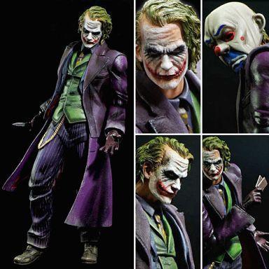 Playarts PLAY ARTS KAI Batman The Dark Knight The Joker PVC Action Figure Colletible Model Toy 21cm KT1812