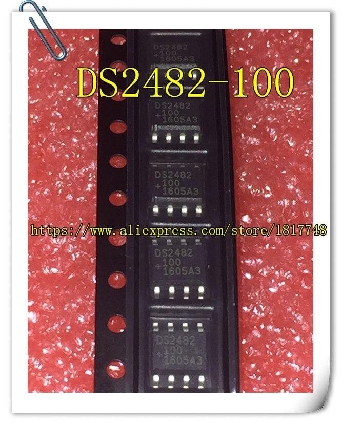 10 peças/lote DS2482S-100 DS2482S DS2482 DS 2482 2482 DS2482-100 SOP8 Original Novo