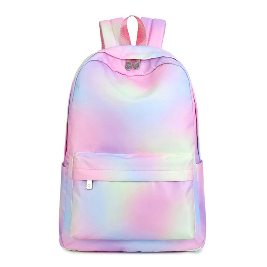 feminine backpack striped women canvas backpack teenage backpacks for teen girls teenagers bagpack youth female mochila feminina Fashion Women Backpack High Quality Youth Backpacks for Teenage Girls Female School Shoulder Bag Bagpack mochila