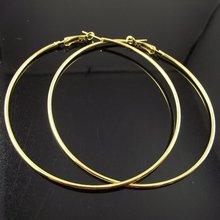 24 paires de boucles doreilles en or 80mm grand cercle boucle doreille Promotion Paparazzi basket-ball femmes boucles doreilles livraison gratuite