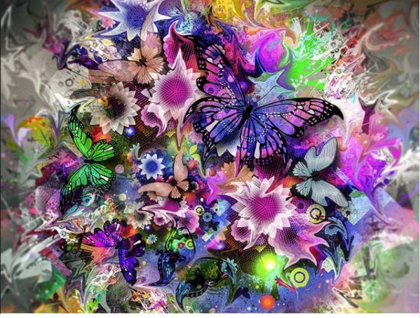 Gran oferta 5d pintura de diamante flor de cerezo chickadees pájaro cuadro de mosaico hecho a mano diamantes de imitación bordado de diamantes