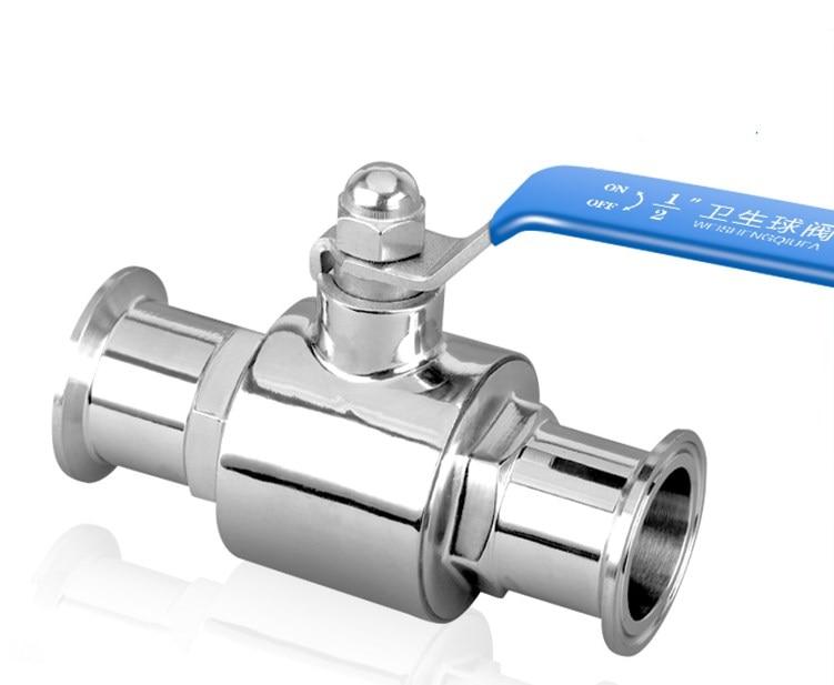1-3/4 OD 45 мм, нержавеющая сталь 304, санитарный полнопортовый шаровой клапан, зажим, сварочный наконечник зажим сварочный aist 275 мм 71172611