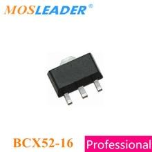 Mosleader BCX52-16 SOT89 1000 قطعة BCX52 سلسلة صنع في الصين PNP 1A 40 V 80 V جودة عالية