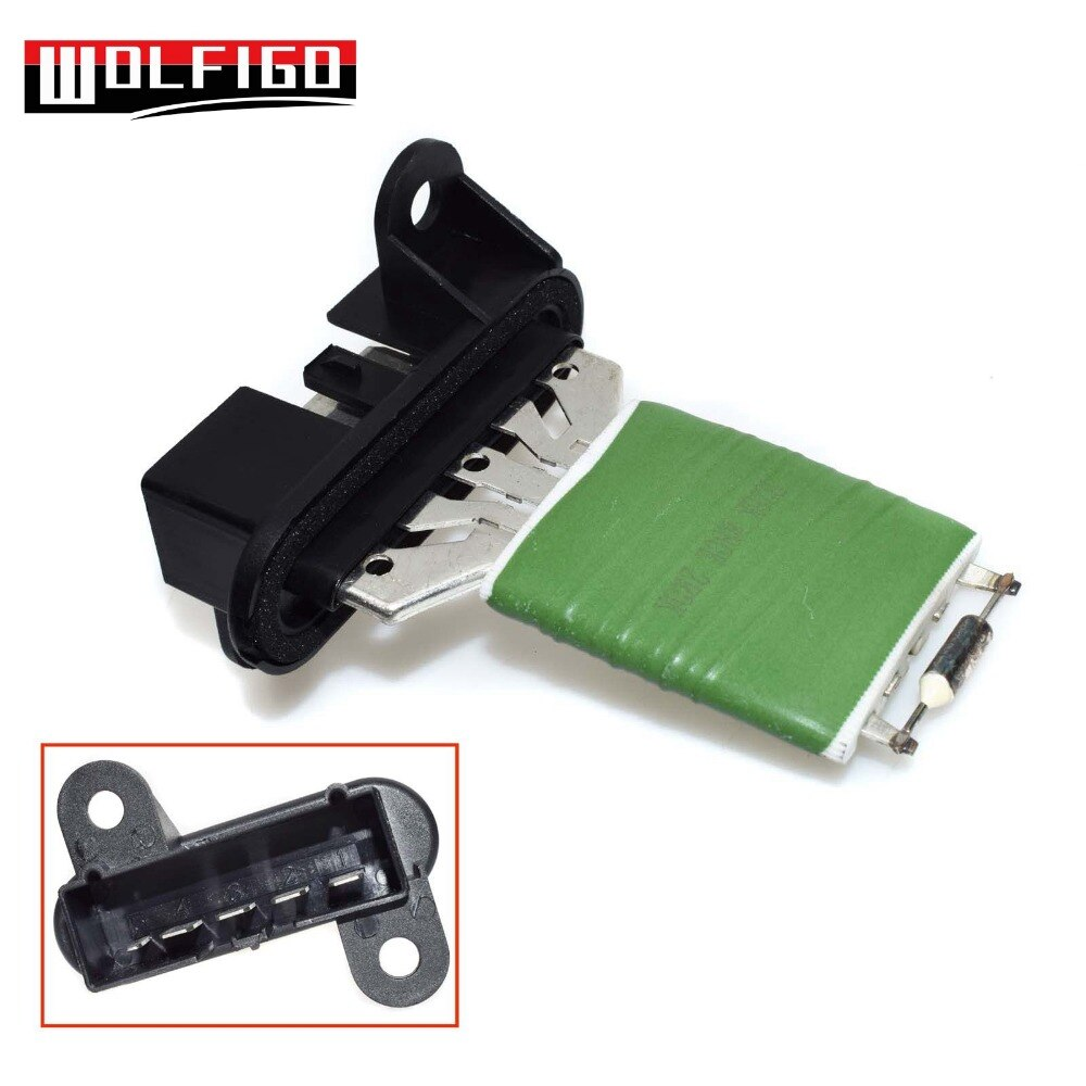 WOLFIGO модуль управления вентилятором вентилятора отопителя, резистор мотора для 01-04 Chrysler Sebring 51741212aa, 4885919AA,4885919AB,973023S
