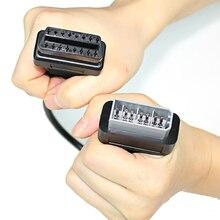 5 sztuk 40cm OBD2 kabla 14 Pin męski na 16 Pin kobieta OBD2 przedłużającego OBDII narzędzie diagnostyczne Adapter przewód łączący dla nissan